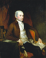John Jay portrait by Gilbert Stuart